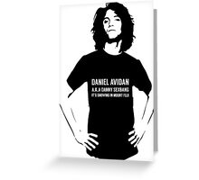 Dan Avidan Loves Haikus Greeting Card