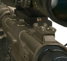 Intervention Sniper MW2 Sticker