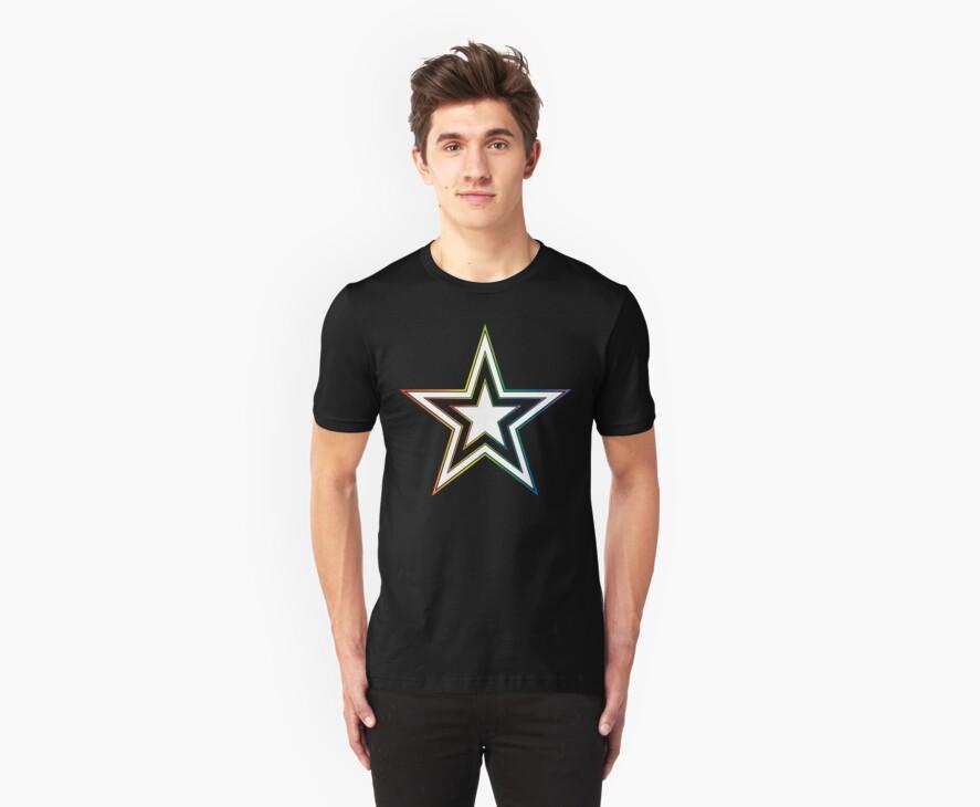 rainbow star by chromatosis