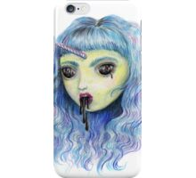 Spooky Unicornia and the Black Ooze iPhone Case/Skin