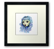 Spooky Unicornia and the Black Ooze Framed Print