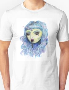 Spooky Unicornia and the Black Ooze Unisex T-Shirt