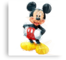 Mickey mouse  Canvas Print