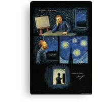 Van Gogh quote: The sight of the stars Canvas Print