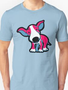 EBT Puppy Pink , White and Teal  Unisex T-Shirt