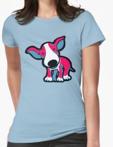 EBT Puppy Pink , White and Teal  T-Shirt
