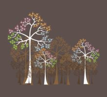 Four Seasons Trees Kids Clothes