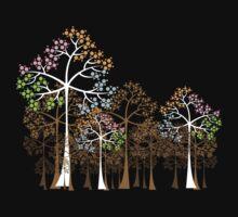 Four Seasons Trees Kids Clothes