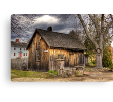 Strawbery Banke Canvas Print