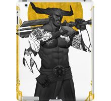 Horns Up iPad Case/Skin