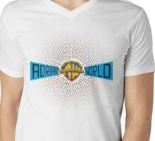 adrian world Mens V-Neck T-Shirt