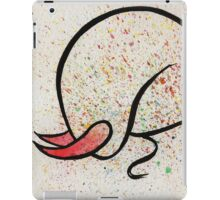 Bulls 4, original watercolors iPad Case/Skin