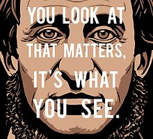 Henry David Thoreau quote: What you see by elvindantes