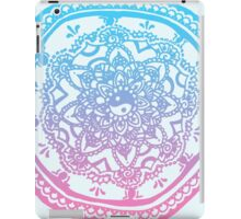Pink and Blue Ombre Design iPad Case/Skin