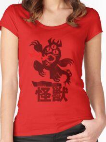 Big Hero 6 Fred's Kaiju Shirt Women's Fitted Scoop T-Shirt