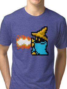 8 Bit Black Mage Tri-blend T-Shirt