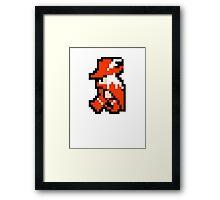 8 Bit Red Mage  Framed Print