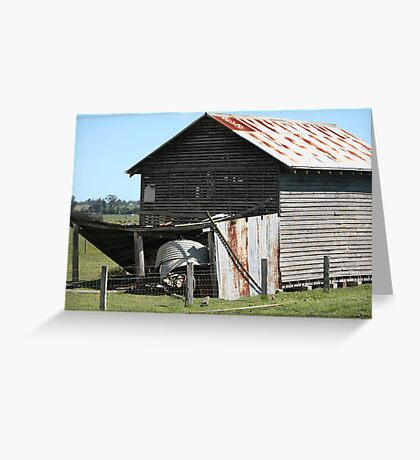farmscapes #66, old drying shed Greeting Card