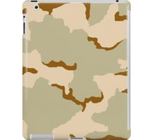 Three Colors Desert Camo iPad Case/Skin