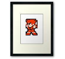 8 Bit Fighter Framed Print