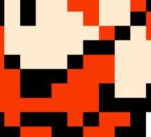 8 Bit Fighter Sticker