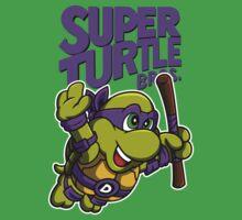 Super Turtle Bros - Donnie Baby Tee