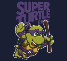 Super Turtle Bros - Donnie One Piece - Short Sleeve