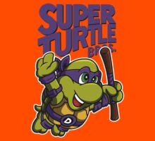 Super Turtle Bros - Donnie Kids Tee
