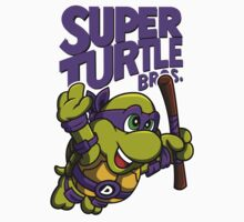 Super Turtle Bros - Donnie One Piece - Long Sleeve