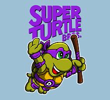 Super Turtle Bros - Donnie Unisex T-Shirt
