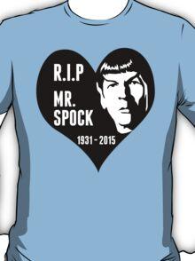 RIP - MR. SPOCK T-Shirt