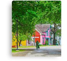 Sherbrooke Village Canvas Print