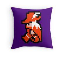 8 Bit Red Mage  Throw Pillow