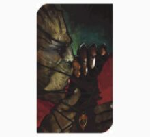 Dragon Age Inquisition Iron Bull Tarot card 4 by Windmach