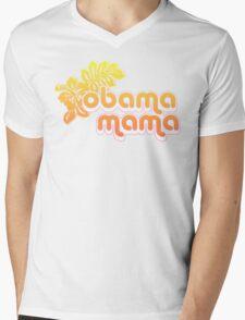 obama mama Mens V-Neck T-Shirt