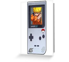 Naruto Gameboy# Greeting Card