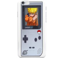 Naruto Gameboy# iPhone Case/Skin