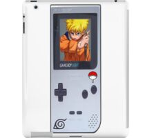 Naruto Gameboy# iPad Case/Skin