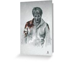 Hannibal Lecter Greeting Card