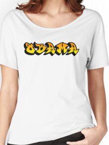 obama : graffiti Women's Relaxed Fit T-Shirt