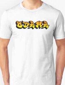 obama : graffiti Unisex T-Shirt