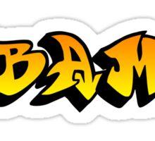 obama : graffiti Sticker