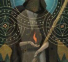 Dragon Age Inquisition Solas Tarot card Sticker