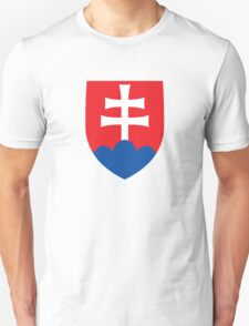 Roundel of the Slovak Air Force  T-Shirt