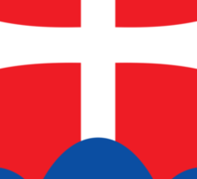 Roundel of the Slovak Air Force  Sticker