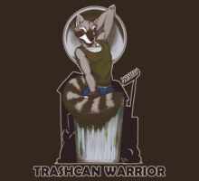 Trashcan Warrior by RickGriffin