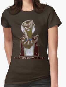 Trashcan Warrior Womens Fitted T-Shirt