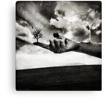A Touch Of Life Canvas Print