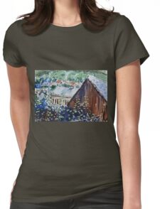 Rural Europe Womens Fitted T-Shirt