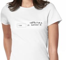 Shift - use it  Womens Fitted T-Shirt